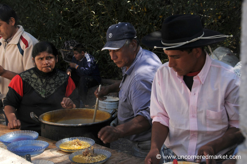 Serving up Traditional Northern Argentine Food