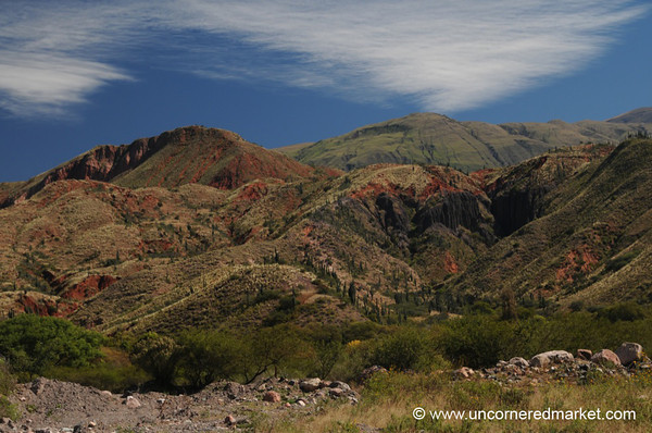 On the Road from Salta to Cachi - Northern Argentina