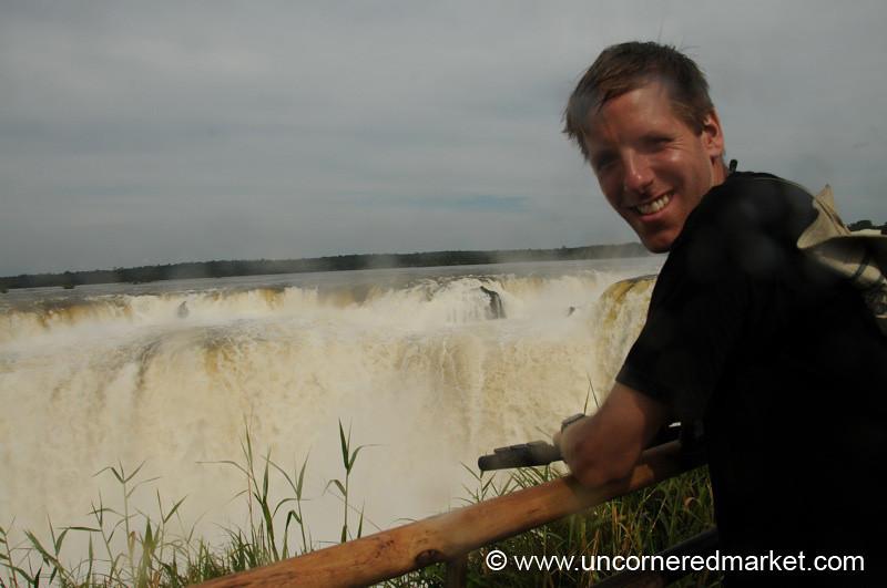Soaked at the Devil's Throat - Iguazu Falls, Argentina