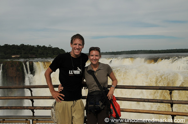 Hamming it Up at Iguazu Falls, Argentina