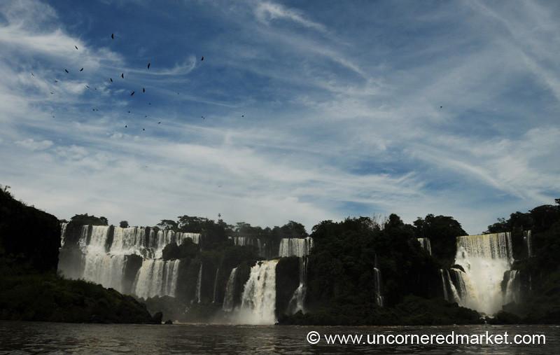 Someone Drew the Sky With Magic Marker - Iguazu Falls