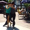 Tango dancers everywere