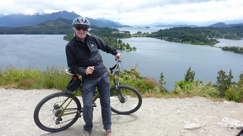 bike touring in Bariloche
