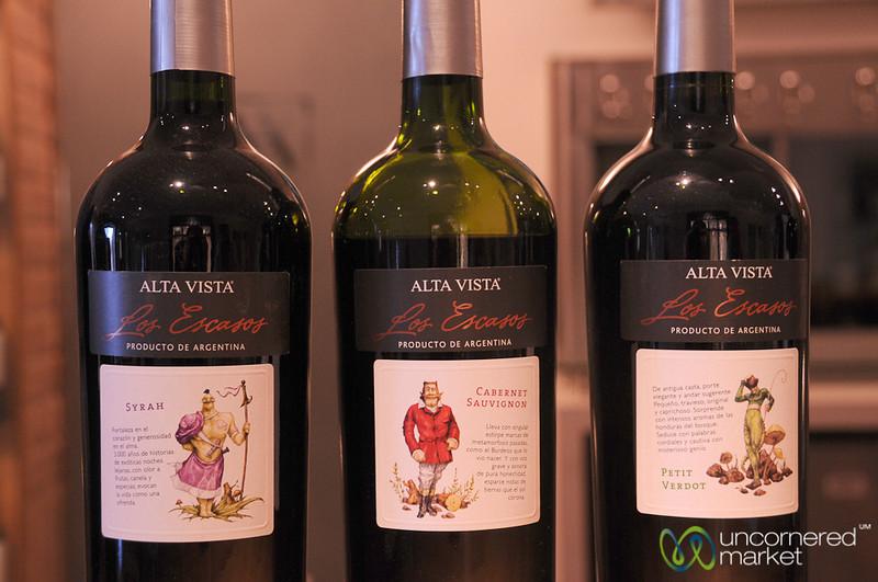 Los Escasos Wines at Alta Vista - Mendoza, Argentina