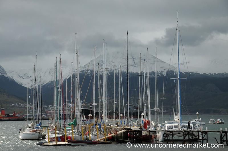 Yacht Club in Ushuaia, Argentina