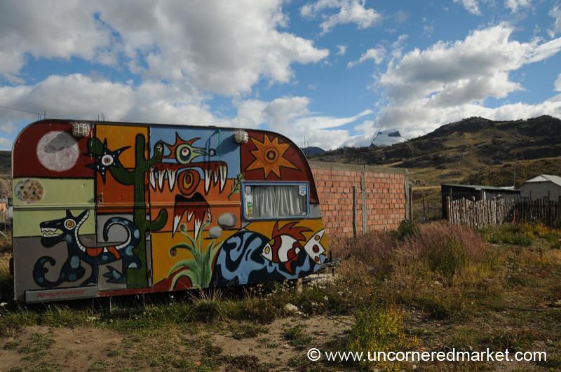 Funky Trailer at El Chalten, Argentina