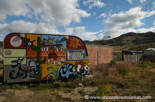 Funky Trailer at El Chalten, Argentina