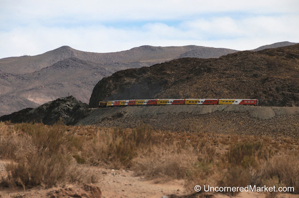 Racing the Train of the Clouds - Northwestern Argentina
