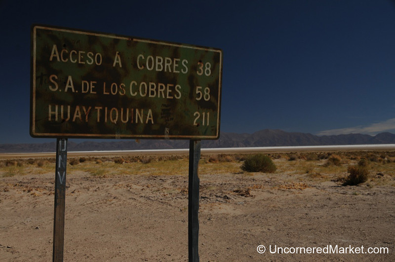 Approaching the Salt Flats (Salinas Grandes) in Northwestern Argentina