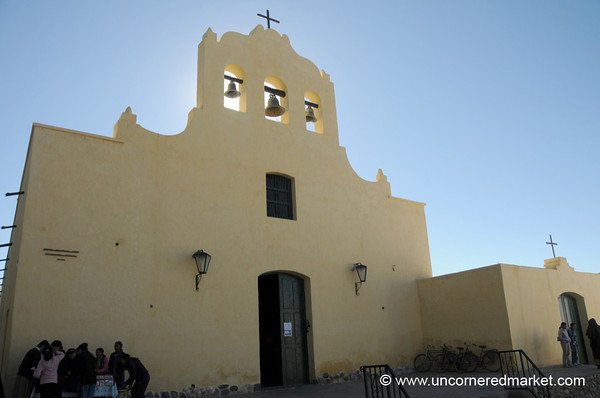 Church on the Main Square in Cachi, Northern Argentina