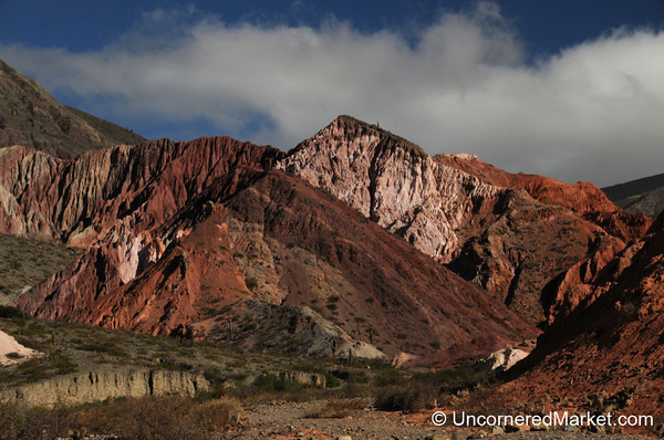 Shades of Pink and Red - Purmamarca, Argentina