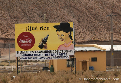 Coca Cola Everywhere - San Antonio de los Cobres, Argentina