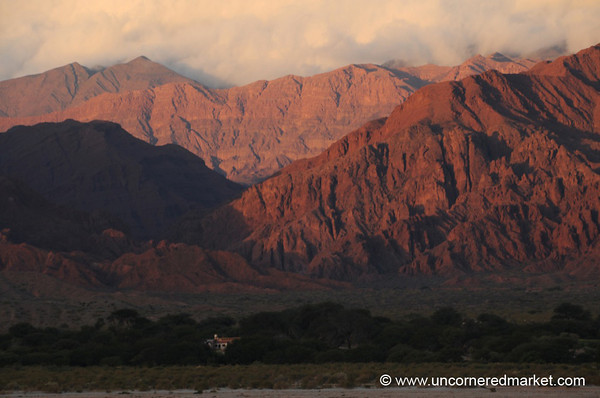 Clouds Settling on the Mountains - Northern Argentina