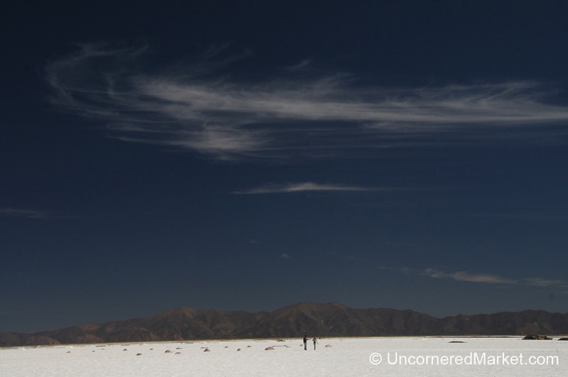 Taking a Walk Through the Salt Flats of Northwestern Argentina