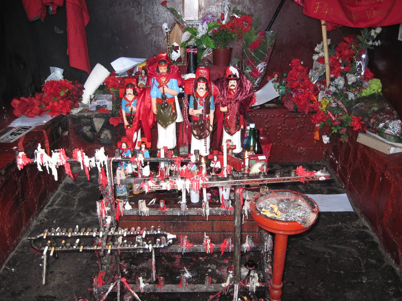 Inside a Shrine
