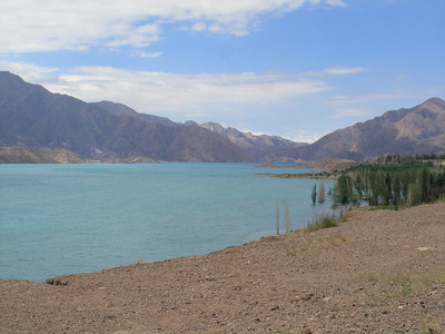 Argentina Lake Near Border