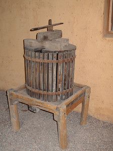 Grape Press in Maipu