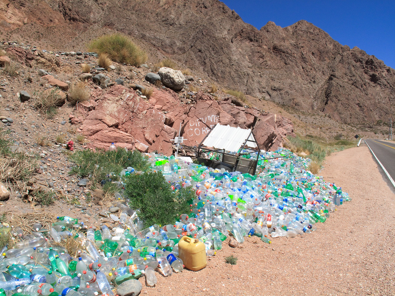 Water Shrine in the Desert