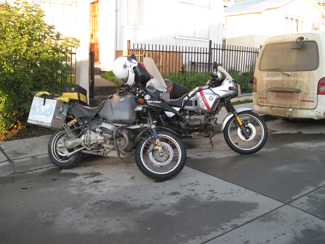 R100GS and The Beast