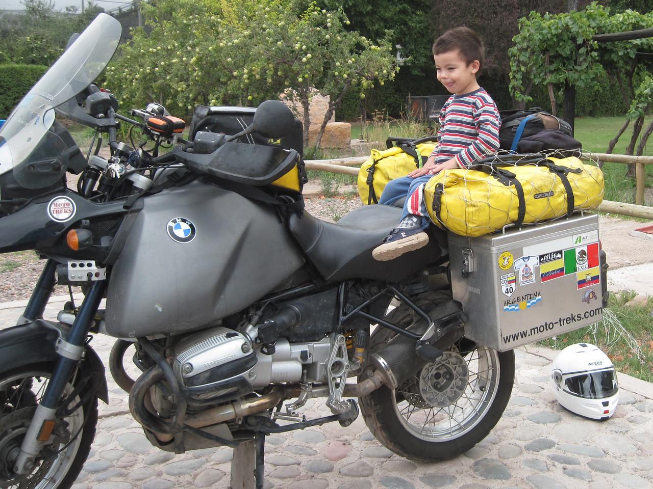 Anton, Young Adventure Rider