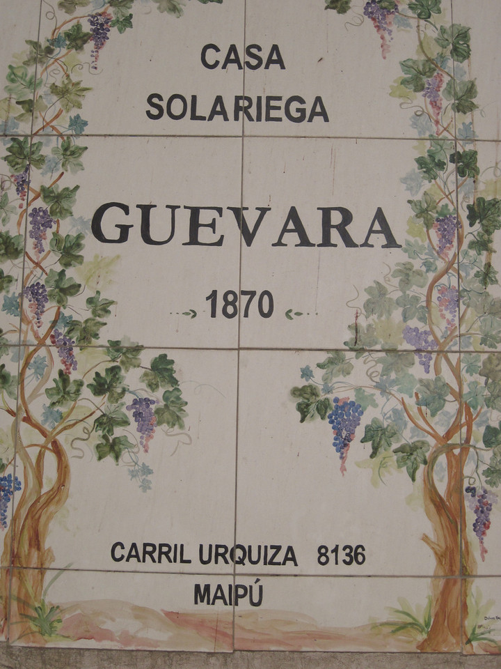 Winery Address Tiles