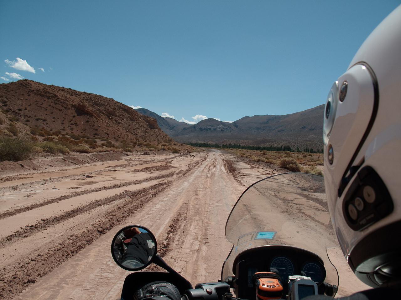 Road mud