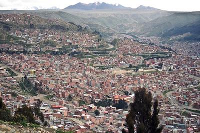 La Paz...approx. 4000m!