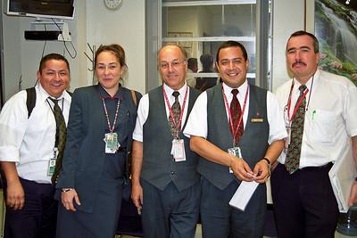 The Air Canada staff in Miami...
