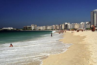 Rio...Copacabana beach...