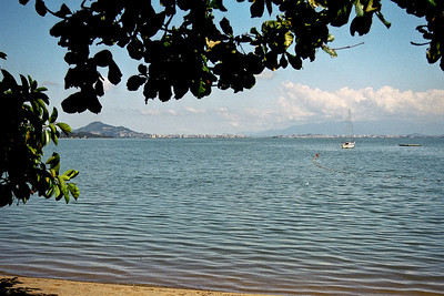Floripa from Sambaqui Beach...