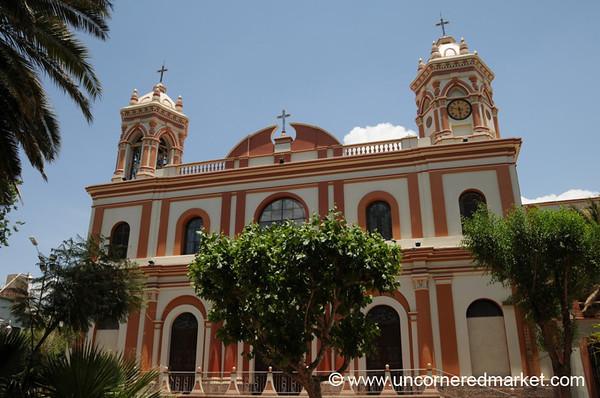 Bolivian Church - Tupiza, Bolivia