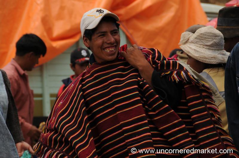 Modern and Traditional - Tarabuco, Bolivia