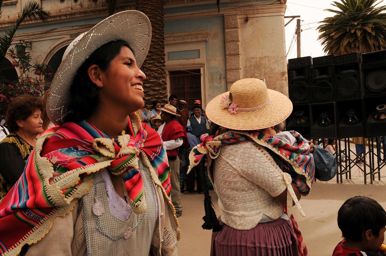 Joy - Political Rally in Tupiza, Bolivia