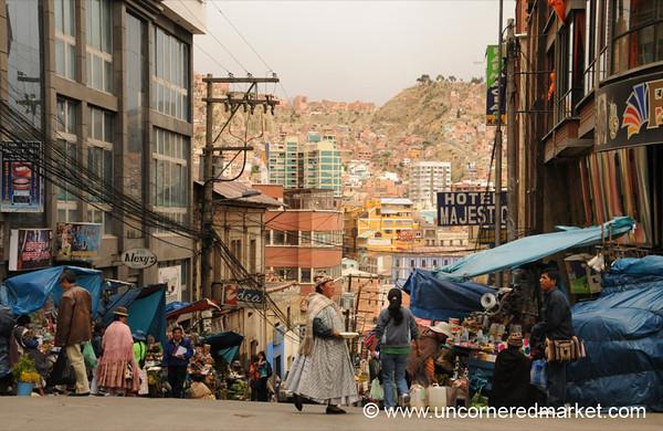 Streets of La Paz - Bolivia