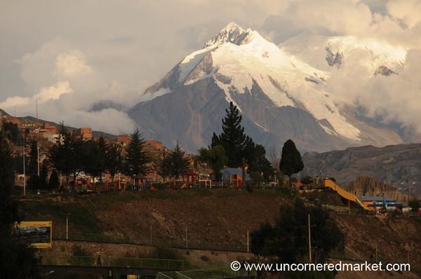 Illimani Peak - La Paz, Bolivia