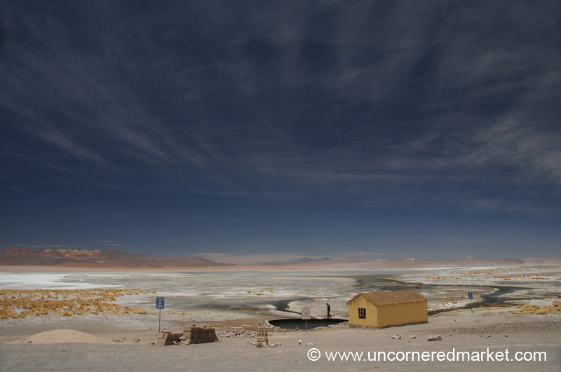Mother Nature's Exercise in Small - Salar Tour, Bolivia