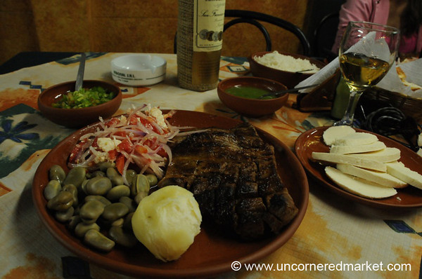 Laping for Dinner - Cochabamba, Bolivia