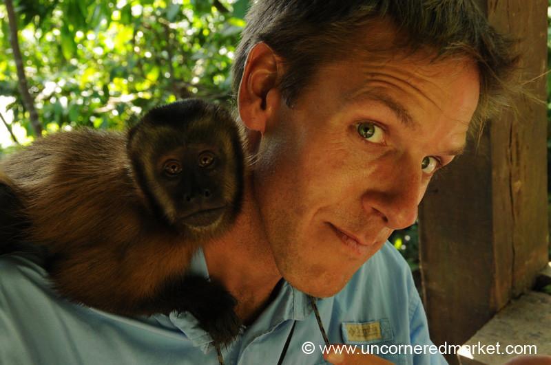 Dan's New Buddy - Inti Wara Yassi in Bolivia