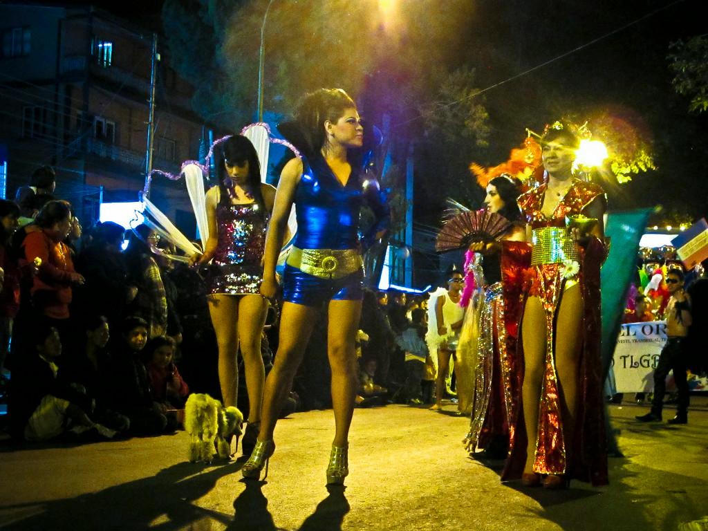 Gay Pride 2013 in Cochabamba, Bolivia