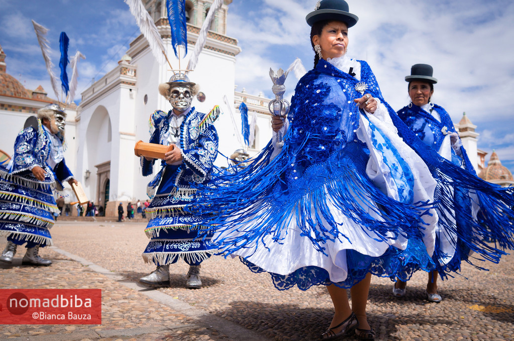 Dancing in Copacabana, Bolivia