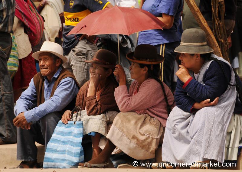 Waiting For the Rally to Start - Tupiza, Bolivia