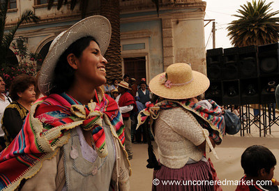 Joy - Political Rally in Tupiza, Bolivia