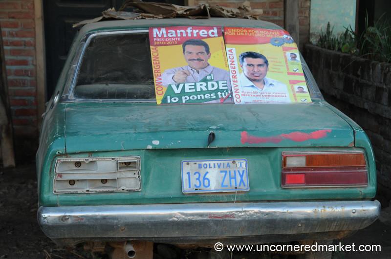 Election Season - Bermejo, Bolivia