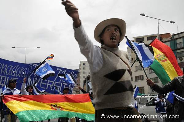 Political Rally - La Paz, Bolivia