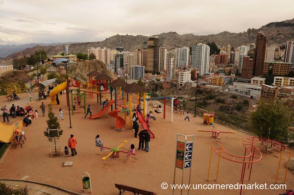 Park and High-Rise - La Paz, Bolivia