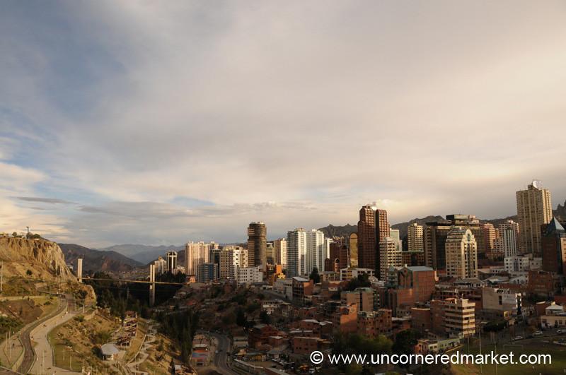 Skyline - La Paz, Bolivia