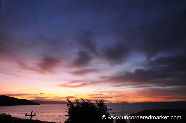 Sunset Over Lake Titicaca - Copacabana, Bolivia