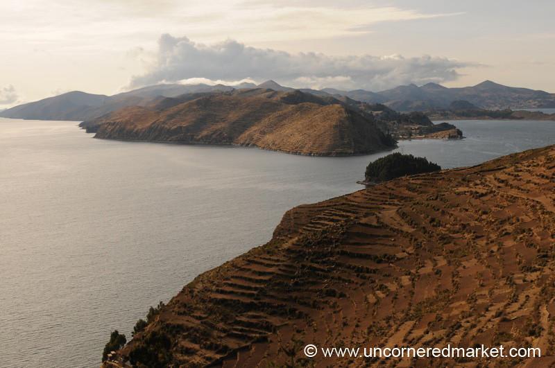 Early Morning in Yumani, Isla del Sol - Lake Titicaca, Bolivia