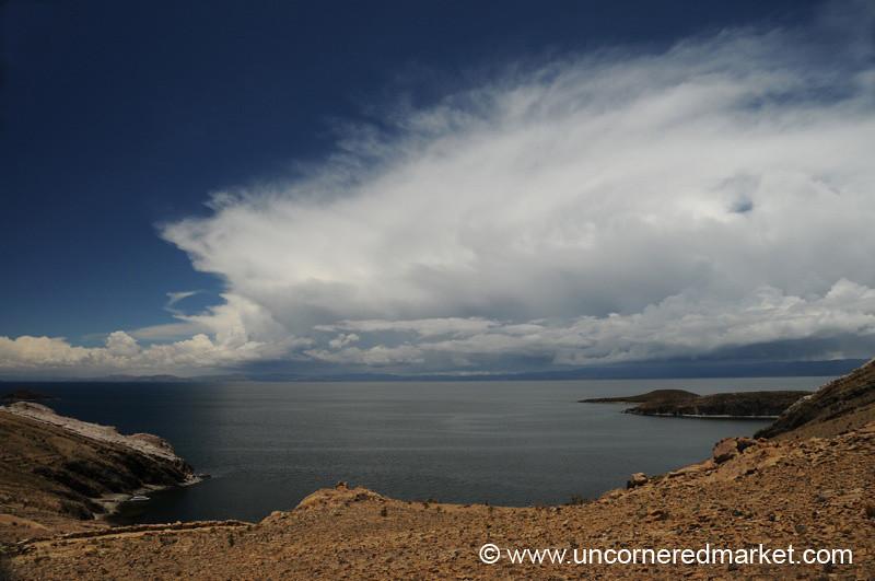Dramatic Skies Over Lake Titicaca - Isla del Sol, Bolivia