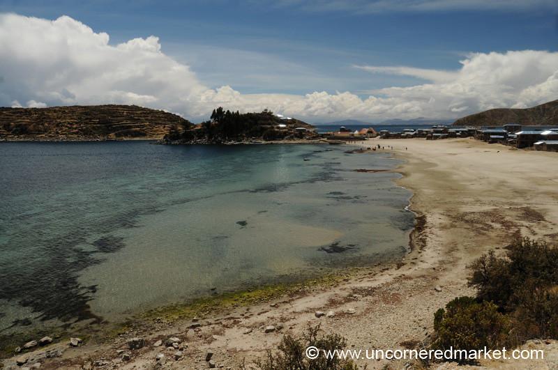 Shores of Lake Titicaca on Isla del Sol - Bolivia